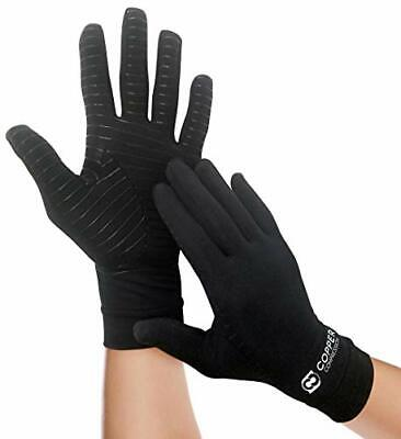 $40.99 • Buy Full Finger Compression Arthritis Gloves For Carpal Tunnel Computer Typing Large