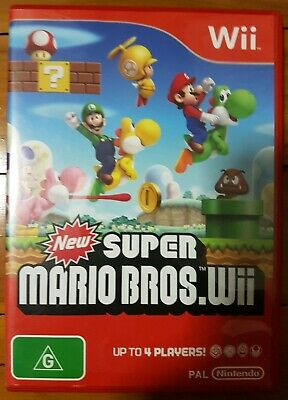 AU35 • Buy New Super Mario Bros. Wii Game (also For Wii U)