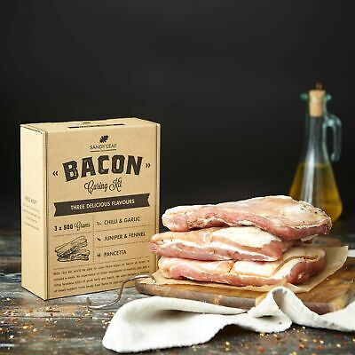 £14.99 • Buy Bacon Kit - Make Your Own Delicious Home Cured Bacon