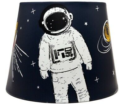 £26.99 • Buy Space Lampshade Light Shade Planet Shuttle Boys Girls Bedroom Accessories Gifts