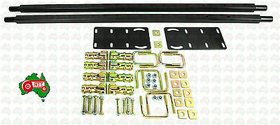 AU195 • Buy Tractor Standard Canopy Hoop Type Curved Square Top ROPS Mounting Kit Large Legs