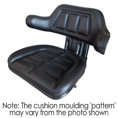 AU132 • Buy W222 Tractor Seat With Base Black Universal Fit 120kg Max