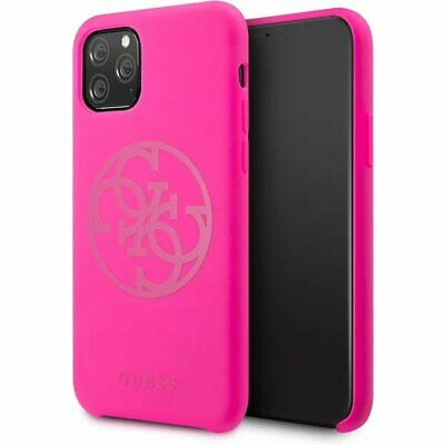 Genuine Guess Silicone 4G Tone Impact Case Cover For IPhone 11 Pro • 17.21£