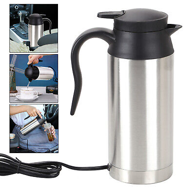 £19.79 • Buy 750ML 12V ELECTRIC KETTLE WATER CAR VAN LORRY TRAVEL PORTABLE CAMPING  Brand New
