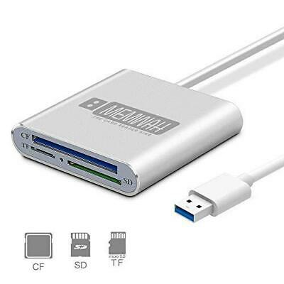 £10.93 • Buy USB 3.0 Multi Card Reader Adapter For Micro SD / SD / SDXC / SDHC / CF - PC Mac