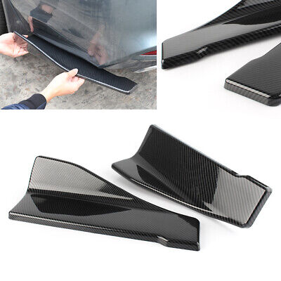 $ CDN40.11 • Buy 2x 35cm Universal Bumper Spoiler Side Skirt Rocker Wings Rear Lip Car Auto Parts