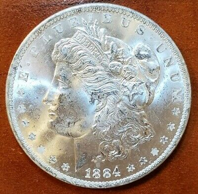 $52.99 • Buy 1884 O MS BU++ BRIGHT ICY WHITE WOW!!! GORGEOUS MORGAN SILVER DOLLAR FROM ROLL☆☆
