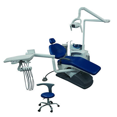 £1545.62 • Buy UK Dental Chair Unit Computer Controlled Hard Leather FDA CE Multi-angle Swing