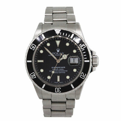 $ CDN9532.08 • Buy Rolex 16610 Submariner Stainless Steel Back Dial Gents Watch