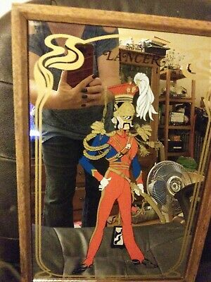 $54 • Buy Vintage Retro Wall Picture Mirror Aspell & Saggers 1977 1970's British Lancer