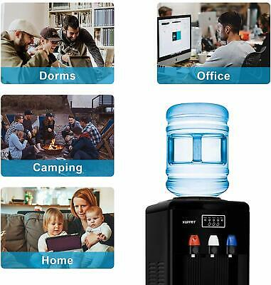 $1259.90 • Buy 2 In 1 Electric Portable Cold Hot  Water Dispenser W/ Built-in Ice Maker Machine