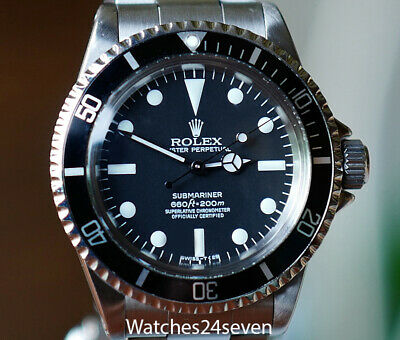 $ CDN16971.24 • Buy Rolex Submariner Stainless Steel Vintage 40mm. Ref 5512