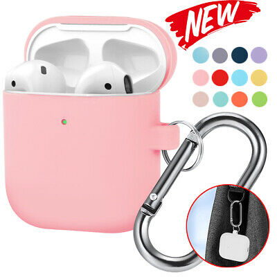 $ CDN5.92 • Buy Ultra Slim Silicone Skin Case+Keychain Protective Cover For AirPod Charging Case