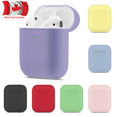 $ CDN5.69 • Buy For Apple AirPods Wireless Charging Case Slim Skin Soft Rubber Protector Cover
