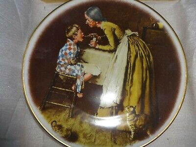 $ CDN6.90 • Buy Dave Grossman Norman Rockwell Adventures Of Tom Sawyer Take Your Medicine Plate