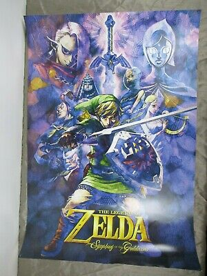 $39.99 • Buy The Legend Of Zelda Poster Lot, 2 Symphony Of The Goddesses & Breath Of The Wild