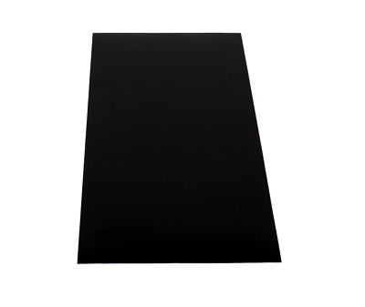 ABS Plastic Sheet// Chip//Board//Plate Thickness 1mm//1.5mm//2mm//3mm//4mm//5mm Black