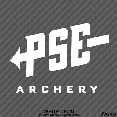 $4.95 • Buy PSE Archery Hunting/Outdoor Sports Vinyl Decal Sticker - Choose Color