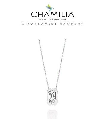 £34.99 • Buy Genuine CHAMILIA 925 Silver JOY  NECKLACE RRP £45 Mother's Day Birthday