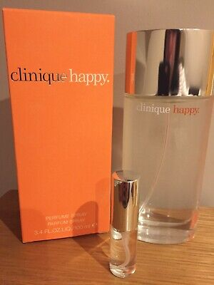 ❤️ Clinique Happy Eau De Perfume Vial Travel / Purse Spray 5ml ❤️ • 5.95£