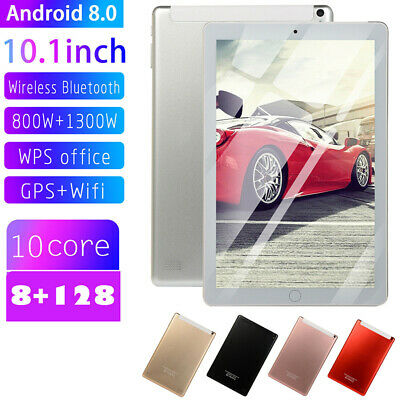 AU75.59 • Buy 10.1  WIFI/WLAN 4G-LTE HD IPS Tablet Android 8.0 Bluetooth 8+128G Dual SIM New