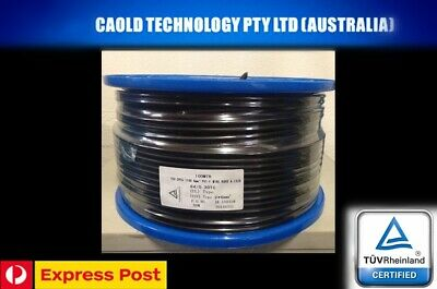 AU39.99 • Buy 6mm Twin Core Solar Cable Photovoltaic Per 10 Meters 10m Free Express Postage