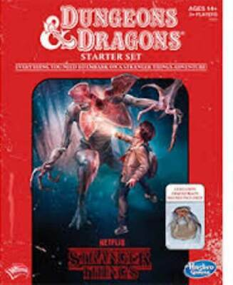 AU25 • Buy NEW D&D Stranger Things Roleplaying Game Starter Set From Mr Toys
