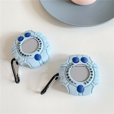 $ CDN6.13 • Buy For AirPods Case Protective 3D Cartoon Digivice Silicone Earphone Charging Cover