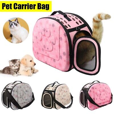 £11.59 • Buy Pet Carrier Soft Sided  Cat/Dog Comfort Travel Carry Carrier Tote Cage Bag