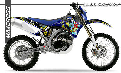 $143.40 • Buy Yamaha Wr250f Wr450f Yz250f Yz450f 2006 2007 2009 Maxcross Graphics Kit Decals03