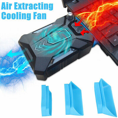 AU25.28 • Buy Mini Vacuum Air Extracting USB Cooling Pad Cooler Fan For Notebook Laptop PC