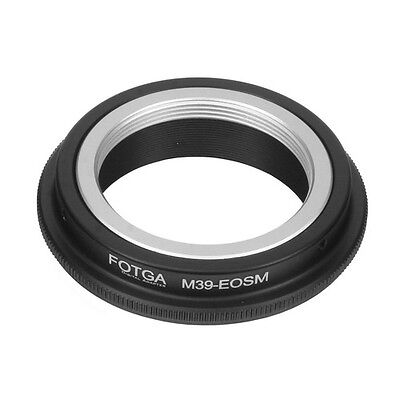 $10.36 • Buy FOTGA Adapter For Leica L39 M39 Lens Mount To Canon EF-M EOS M M2 M3 M5 M6