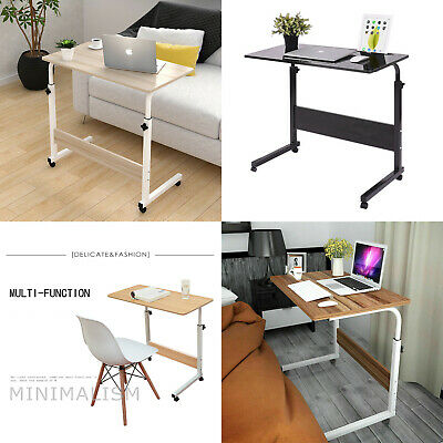 Notebook Desk Adjustable Portable Laptop Table Trolley Sofa Bed Tray Computer UK • 18.59£