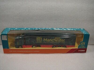 Corgi Superhaulers Scania Curtainside CC86612 THE COMMONWELTH GAMES 2002 . • 15£