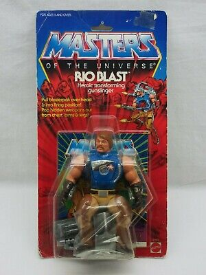 $225 • Buy MOTU,VINTAGE,RIO BLAST,Masters Of The Universe,MOC,carded,figure,Sealed,He-Man