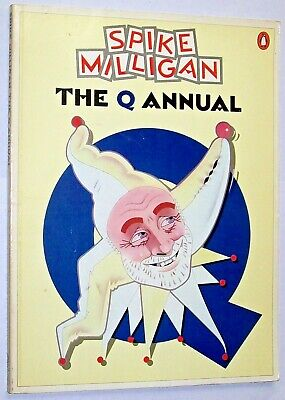 The Q Annual - Spike Milligan - 1980 1st Penguin Edition • 5.75£
