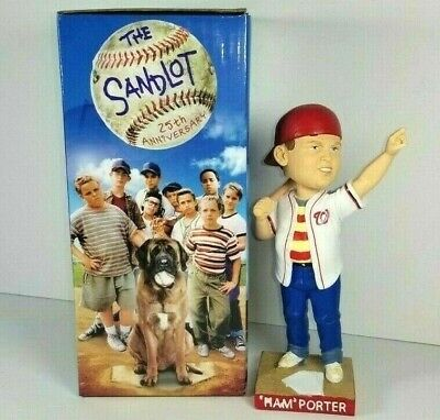 $ CDN114.12 • Buy Ham Porter Washington Nationals Bobblehead The SANDLOT New In BOX Curly W Nats