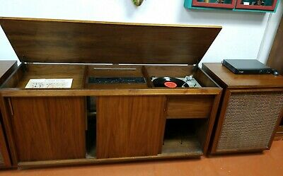 $3799.99 • Buy VINTAGE BARZILAY ENTERTAINMENT CENTER With JBL LX8 CABINET SPEAKERS