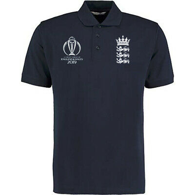 England Cricket World Cup Winners 2019 Polo Shirt - Navy - Free P&P • 14.95£
