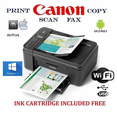View Details NEW Canon Wireless Printer-photo/Copy/Scan-Android Air Print-LCD-Fax • 54.00$