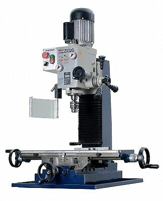 $1977.22 • Buy ZX32G 27 9/16  X 7 1/16  Milling And Drilling Machine