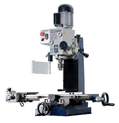 $2532.86 • Buy ZX32GP 27 9/16  X 7 1/16  Milling And Drilling Machine With Powerfeed