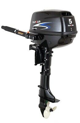 AU1245 • Buy 5HP PARSUN OUTBOARD MOTOR Short Shaft, 4-Stroke, Manual Start F5BMS 2YR WARRANTY