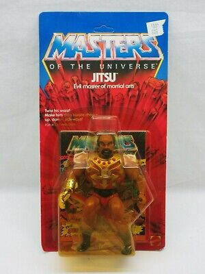 $215 • Buy MOTU,VINTAGE,JITSU,Masters Of The Universe,MOC,carded,sealed,Unpunched,He-Man