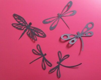 £1.75 • Buy Dragonfly Die Cut Shapes For Card Making/scrapbooking Jar, Candle Craft