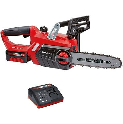 View Details Chainsaw Battery Powered Einhell GE-LC18LI-KIT Lithium 18VOLT 3.AH Pruning • 161.18£