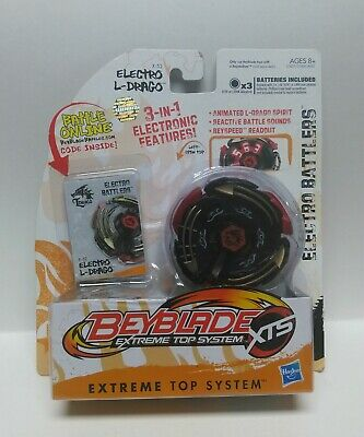 AU32.52 • Buy Beyblade ELECTRO L-DRAGO X-52 Left Spin Top Extreme Top System XTS HASBRO New