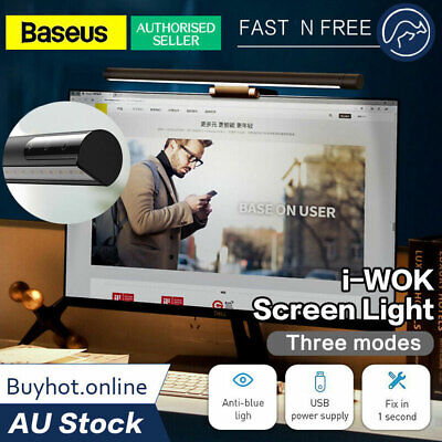 AU40.95 • Buy Baseus I-wok Series USB Asymmetric Light Source Screen Bar Hanging Light (Youth)