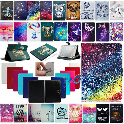 For Amazon Kindle Fire HD 10 2019 Universal Leather Stand Case Cover Keboard UK • 11.05£