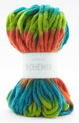 Sirdar Bohemia Ultra Super Chunky 150g - RRP £12.69 - OUR CLEARANCE PRICE £4.99 • 4.99£